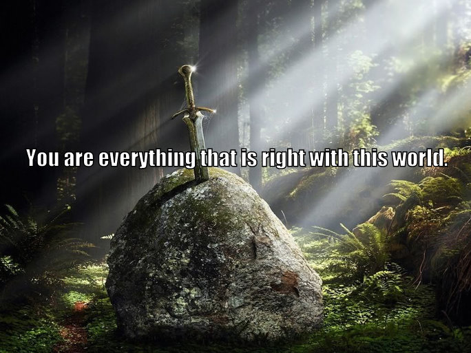 Merlin quotes from excalibur
