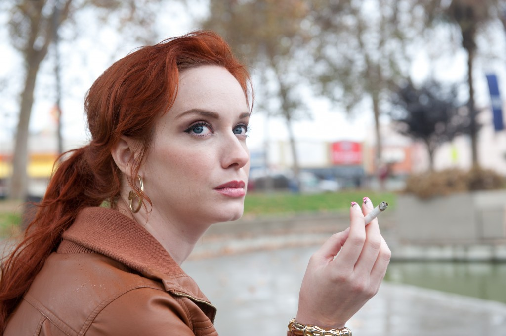 "Christina Hendricks in ""Drive"""