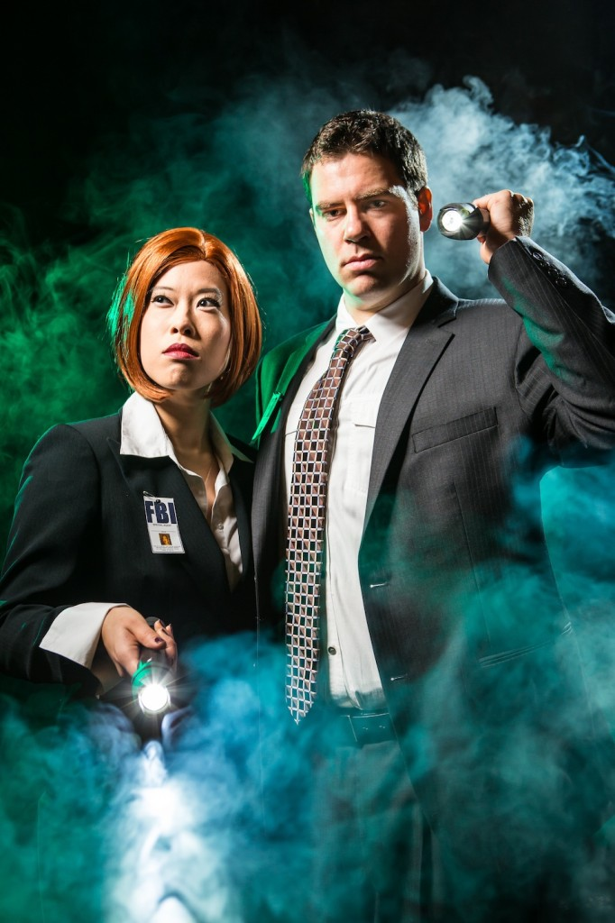 Promotional photo for Burl X-Files: The Truth is Down There. Photo: Jules Doyle
