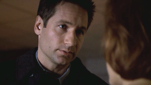Admittedly, Mulder and Scully aren't the most expressive of folks, ...