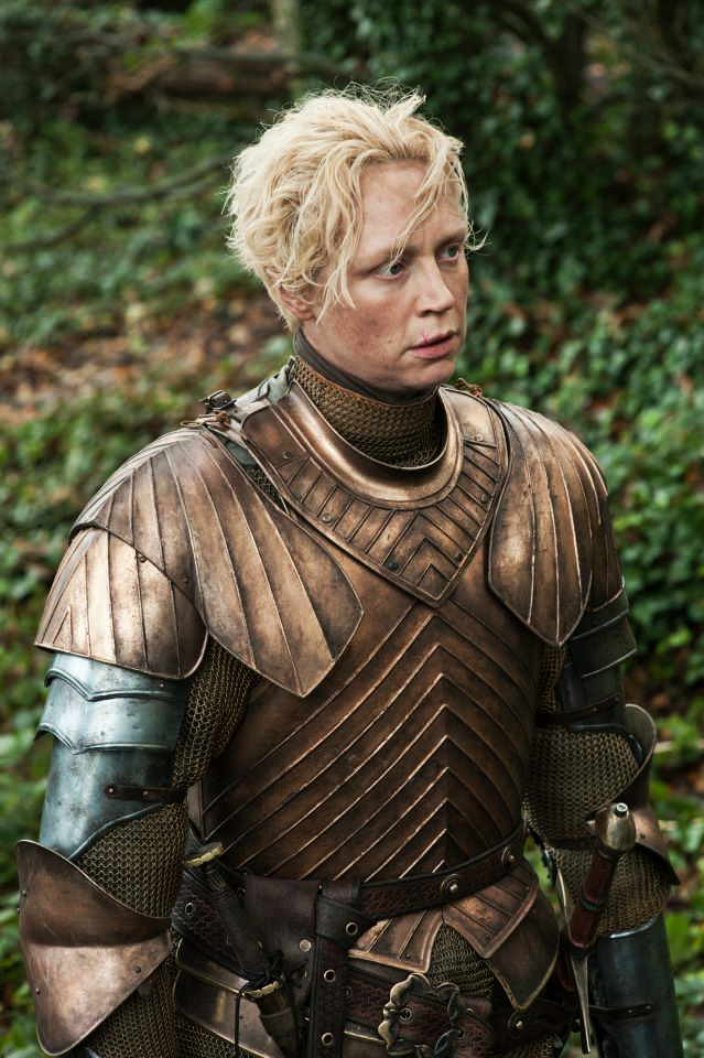 Brienne of Tarth, image courtesy of Game of Thrones Wikia