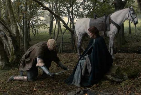 Brienne and Catelyn, image courtesy of Hielo y Fuego wikia