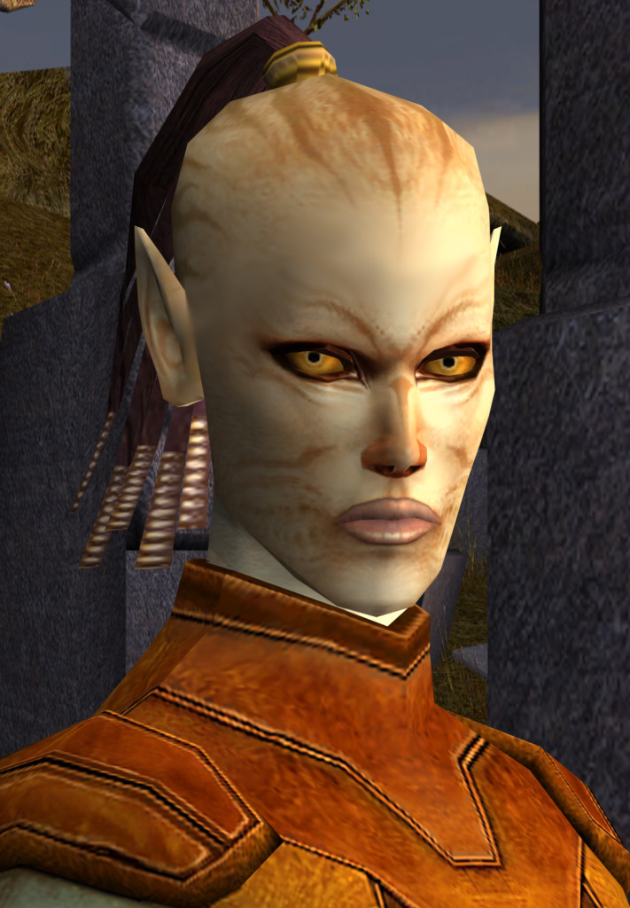 Juhani, Knigts of the Old Republic. Image from Wookieepedia