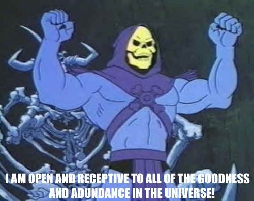 The first Skeletor affirmation