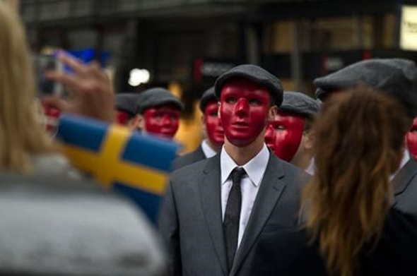 The Red Masks. These guys didn't turn out to be what I expected.
