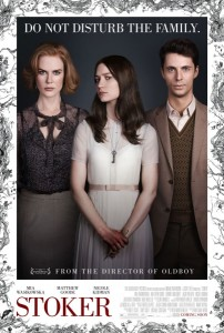 Poster for Stoker. [via Collider]