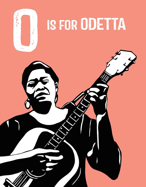 O is for Odetta (Rad American Women A-Z; via Dangerous Minds)